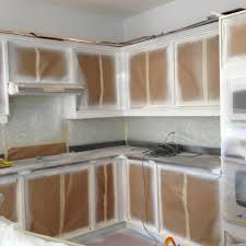 Spray Painting Kitchen Cabinets Spray Painting Kitchen Base Cabinets Kick Plates Crowns