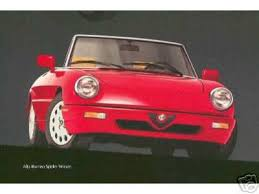 cardisc international 1991 to 1994 spider the spider 1991 to 1994 the alfa romeo