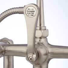 lofty design ideas faucet shower diverter freestanding telephone tub supplies porcelain lever stuck not working bathtub