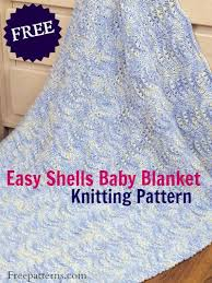 Baby Blanket Knitting Patterns Free Downloads