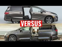 2018 Honda Odyssey Vs Chrysler Pacifica Appearance  S
