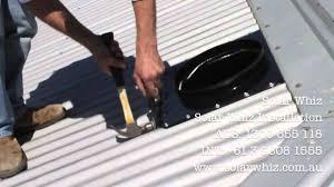 Bathroom Fan Vent Metal Roof