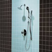 Small Picture black and blue bathroom tile wall with simple shower walls For