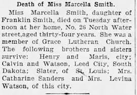 Obituary for Marcella Smith - Newspapers.com