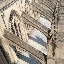flying buttress  ancient to medieval art