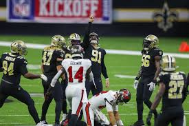 Divisional round second half open thread. New Orleans Saints Give Tom Brady A Rough Welcome To The Nfc South Beat Buccaneers 34 23 Canal Street Chronicles