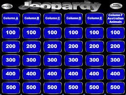 Jeopardy Game Powerpoint Template With Music The Highest