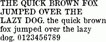 Newspaper Fonts Old Newspaper Types Free Font Download