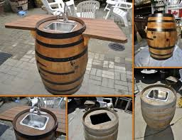 How to Make a Wine Barrel Sink