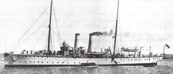 Конфликты кризисы и союзы Европы в начале века Новая история  Германская канонерская лодка Пантера Фото 1911 г