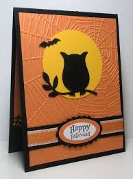 Make Halloween Card Crafts Ideas Kids Adult Diy Cards With Sanding Card Making Ideas For Halloween