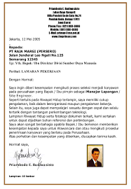 Contoh Cover Letter n Resume   Telecommunication   Communications