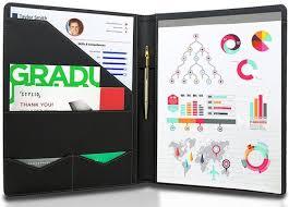 Stylio Padfolio Resume Portfolio Folder At Rs 250 Piece Leather