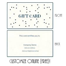 Free Printable Gift Certificates Template Gift Certificate Free Template Download Idmanado Co