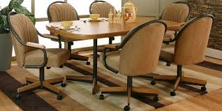 dinette sets chairs with casters. caster chairs · parts dining sets dinette with casters