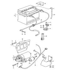battery starter wiring harnesses porsche 944 battery starter wiring harnesses