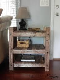 diy rustic end tables elegant les 42 meilleures images du tableau woodworking sur of 42