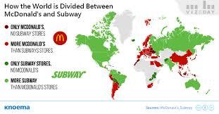 Subway Stock Price Chart Mcdonalds Vs Subway Which Has The Bigger Restaurant Chain