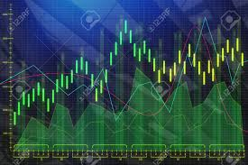 Abstract Colorful Forex Chart Wallpaper Broker And Future Concept