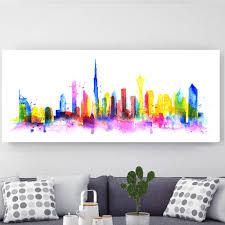 modern canvas art. Dubai, Canvas Art Modern V