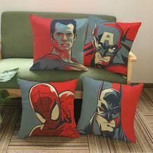 <b>Чехол на подушку с</b> рисунком супергероя, Бэтмена, Халка ...