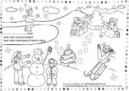 free-printable-worksheets-coloring-winter-511895 Â« Coloring Pages ...