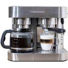 This makes it cleaner and. Espressione Em 1040 Stainless Steel Espresso Coffee Maker Quench Essentials