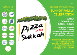 Pizza in the Sukkah – JEMS