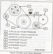 fan belt diagram posted image
