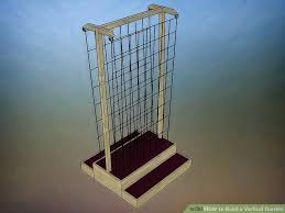 how to build a vertical garden. Brilliant Build Image Titled Build A Vertical Garden Step 3 And How To A P