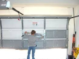 insulated garage doors insulated garage door modest on exterior with regard to interior s wood