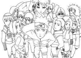 Naruto And Sasuke Coloring Pages Lovely Top 25 Printable Naruto