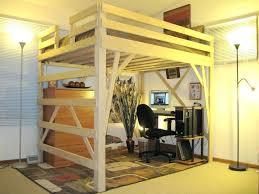 queen loft beds with desk queen loft beds with desk queen bunk bed with desk plans
