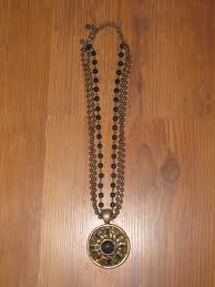 details about chico s multi strand necklace with pendant