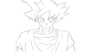Dragon Ball Z Super Saiyan Coloring Pages Printable Coloring Page