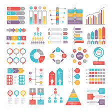 Charts Graphs And Other Different Infographics Elements For