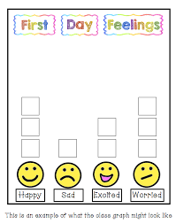 First Day Jitters Feelings Chart Google Search First