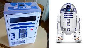 R2d2 valentine box #starwars #r2d2. R2d2 Classroom Valentine Mailbox Printable South Lumina Style