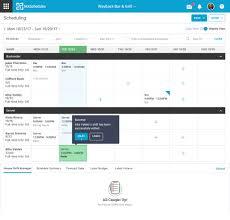 Make Work Schedule Online Free Online Employee Scheduling Software Hotschedules