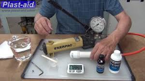 fix pvc pipe leak. Fine Pipe Fix Leaking PVC Pipe  Plastaid 004 Inside Pvc Leak E