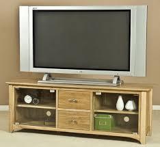 tuscany solid oak 2 door 2 drawer large glass tv unit
