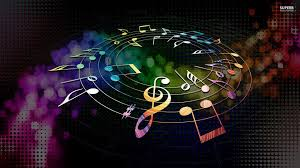 colorful music wallpapers hd. Modren Music Colorful Musical Notes Wallpaper  Music Wallpapers  On Wallpapers Hd