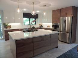 modern kitchen colors with light wood cabinets awesome a mid century modern ikea kitchen for a