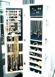 jewelry closet cabinet built organizer
