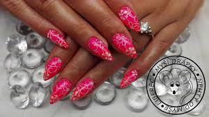 Neon Pink Barevné Gely Neon Nl Nails Profesional