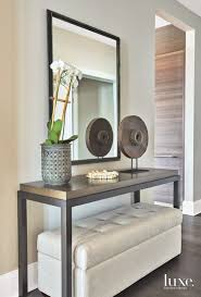 Contemporary entryway furniture Unique Functional Entryway In Contemporary Chicago Apartment Pinterest Functional Entryway In Contemporary Chicago Apartment Foyer Home