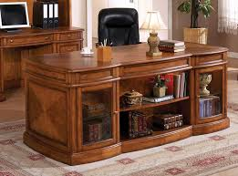 stylish wood office furniture for home office desk wood home office