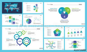 Business Inforgraphic Design Set For Marketing Concept Can