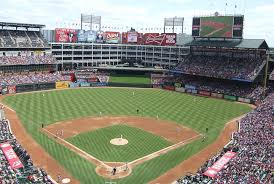 Arlington Backyard Seating Chart Globe Life Park Texas Rangers Ballpark Ballparks Of Baseball