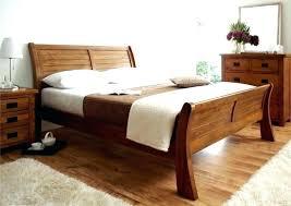 King Size Wood Bed Frame Reclaimed Wood King Platform Bed Frame ...